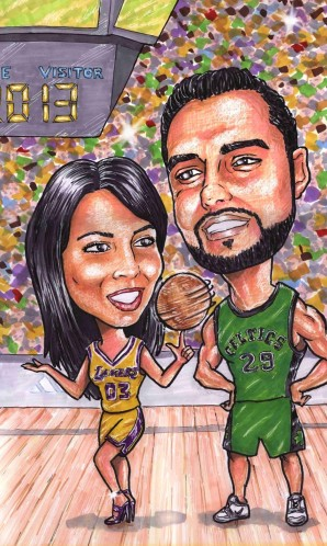 11x14 Sharon & Deepak