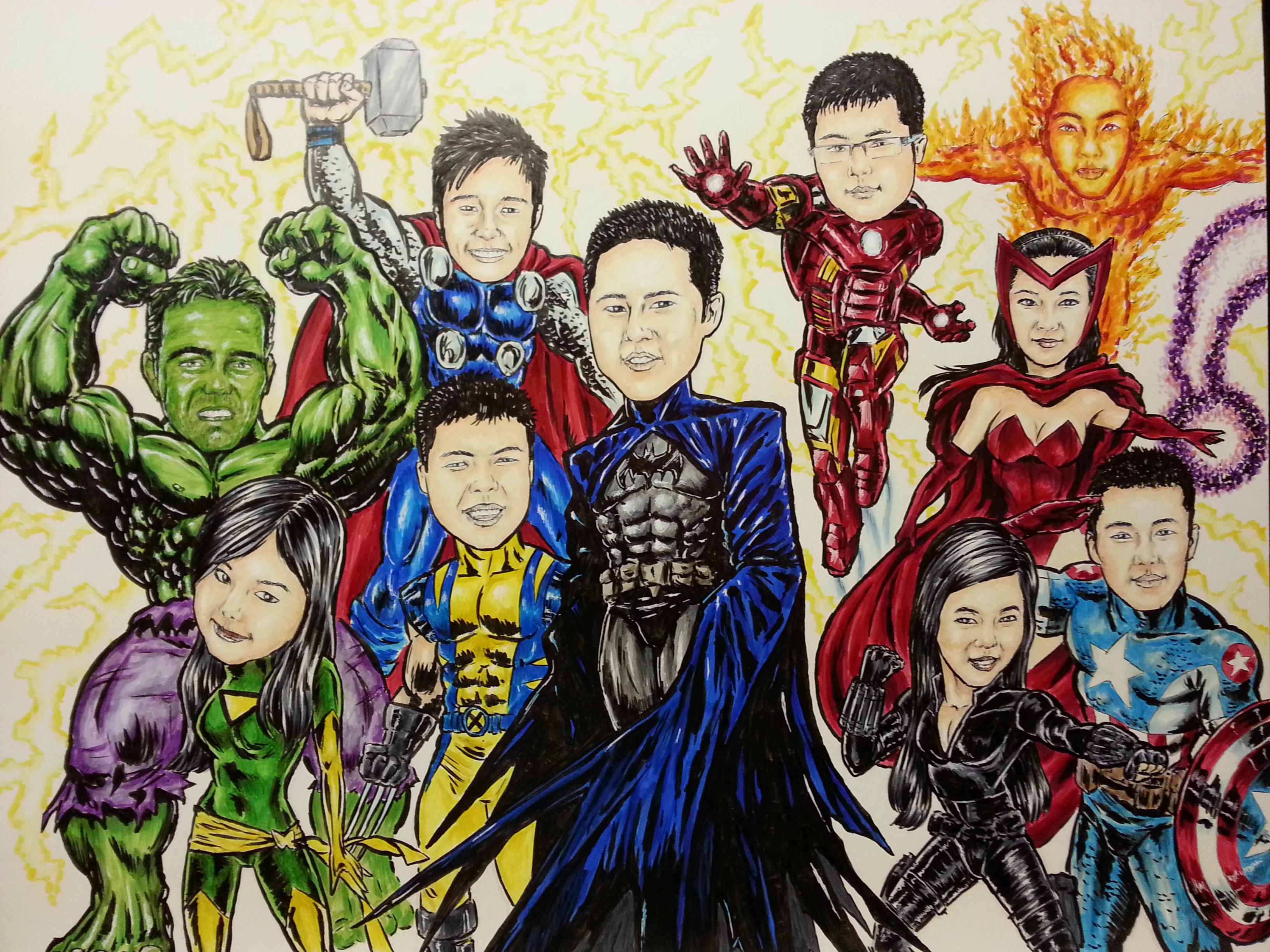 Choose your own superhero!