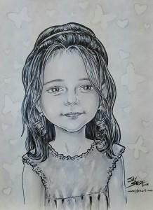 Fictitious Daughter portrait